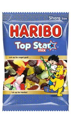 Haribo Top Star Mix 375 g